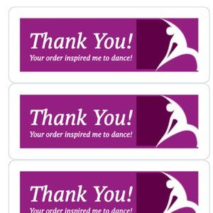 Other - Thank You Stickers Labels Shipping Cards Box Boxes